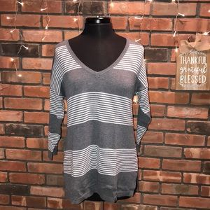 Old Navy Striped Light Fall Knit Sweater